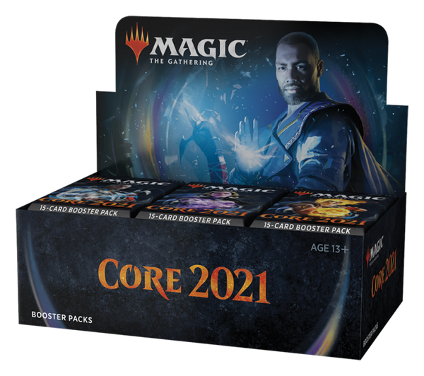 Core Set 2021 Draft Booster Display NA for Prerelease