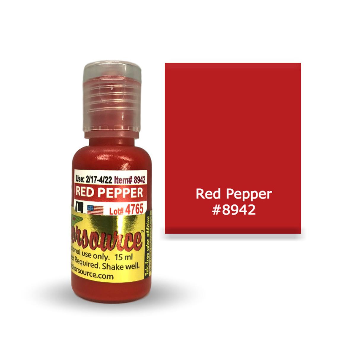 Kolorsource Permanent Makeup Pigment (PMU) Red Pepper #8942 - 15ml