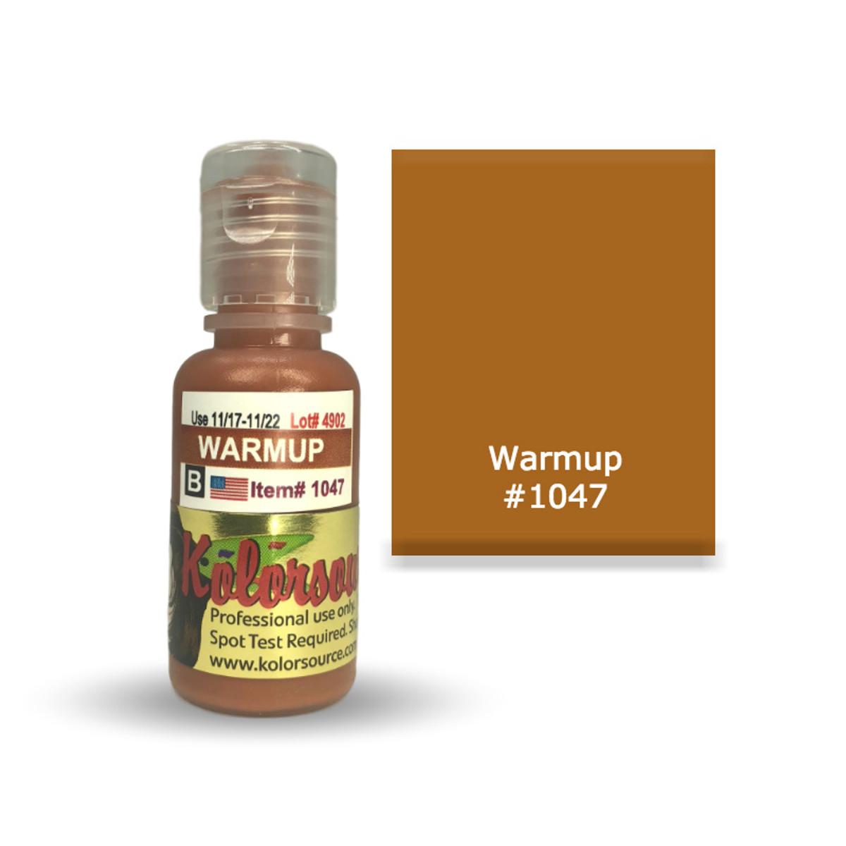 Kolorsource Permanent Makeup Pigment (PMU) Warmup Modifier #1047 - 15ml