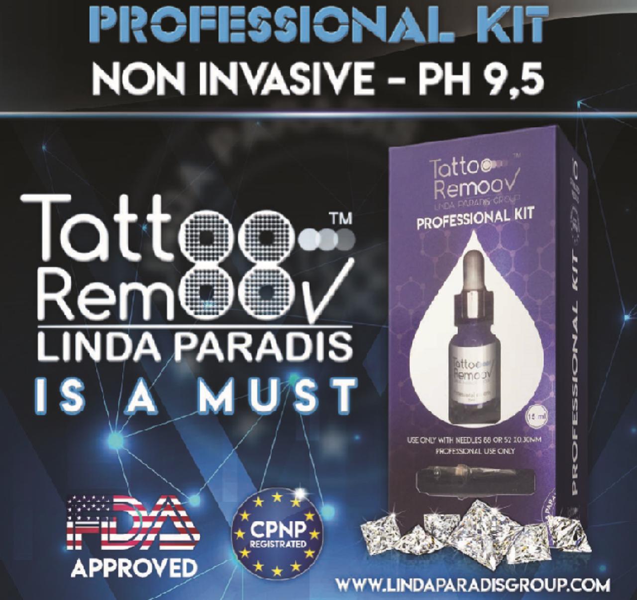 Professional Kit - Tattoo Remoov 15ml & Cartridges 88RS - Permanent Makeup (PMU)