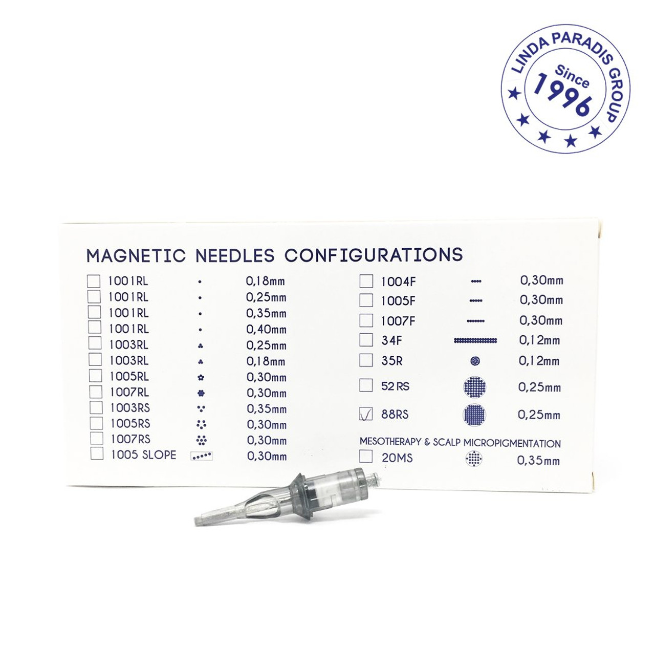 Cartridge Needle 88RS - Tattoo Remoov (Box of 10 Units)