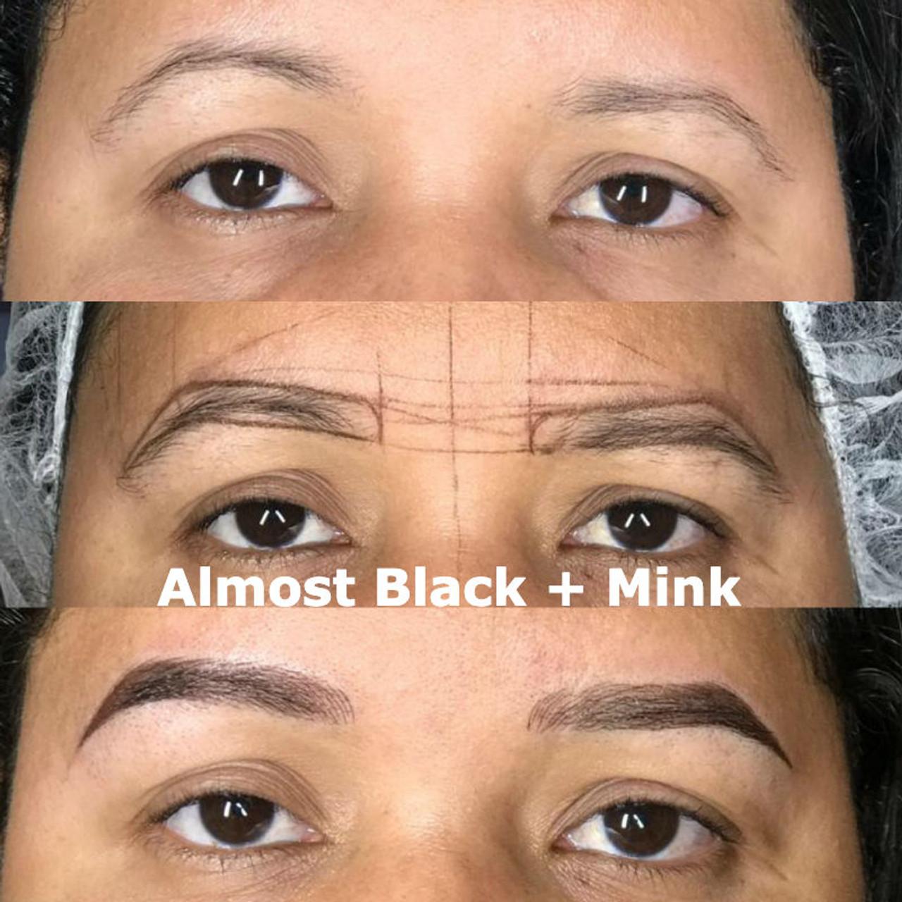 Kolorsource Permanent Makeup Pigment (PMU) Almost Black #9640 - 15ml