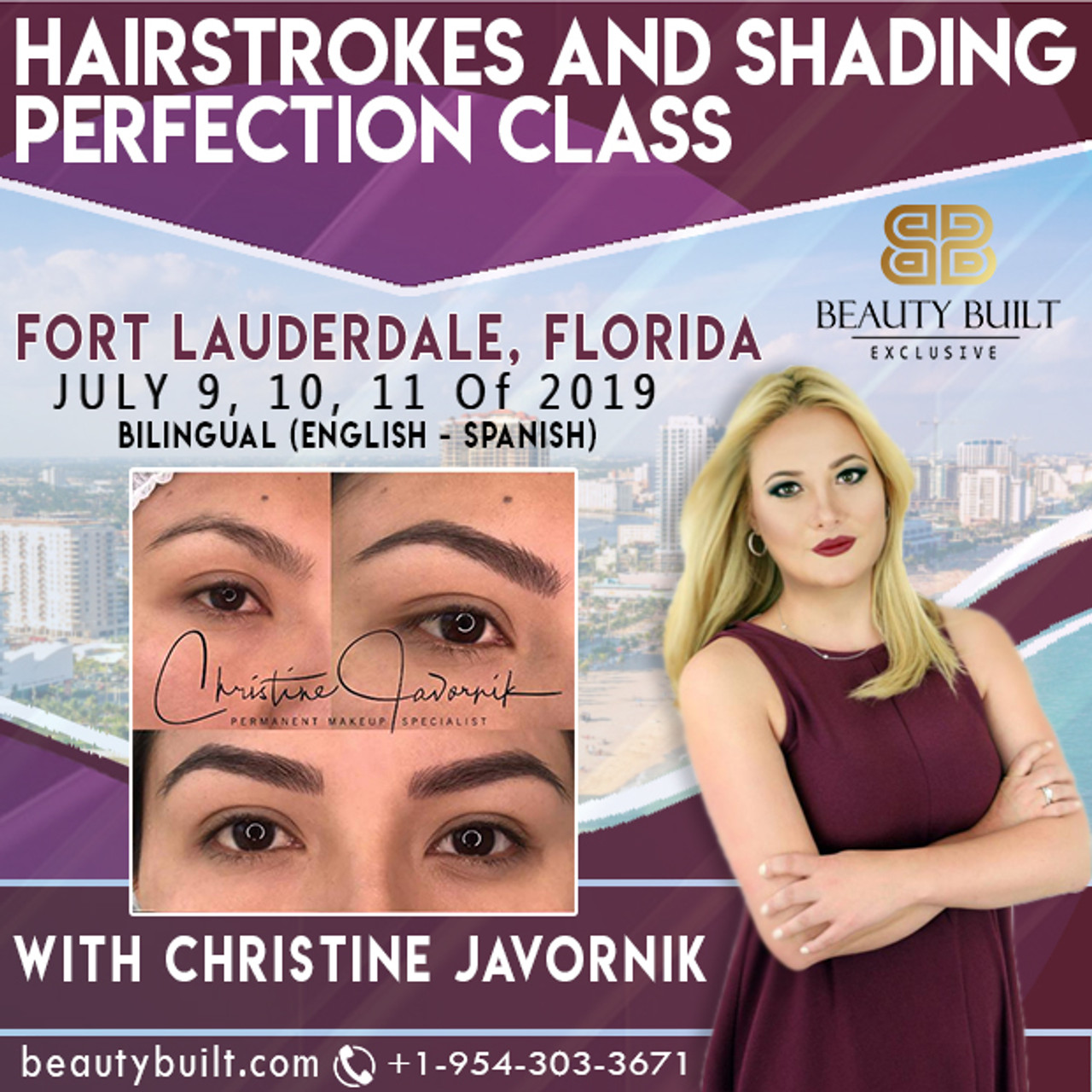 Hairstrokes + Shading Perfection Class - July 9th, 10th & 11th, 2019 with Christine Javornik