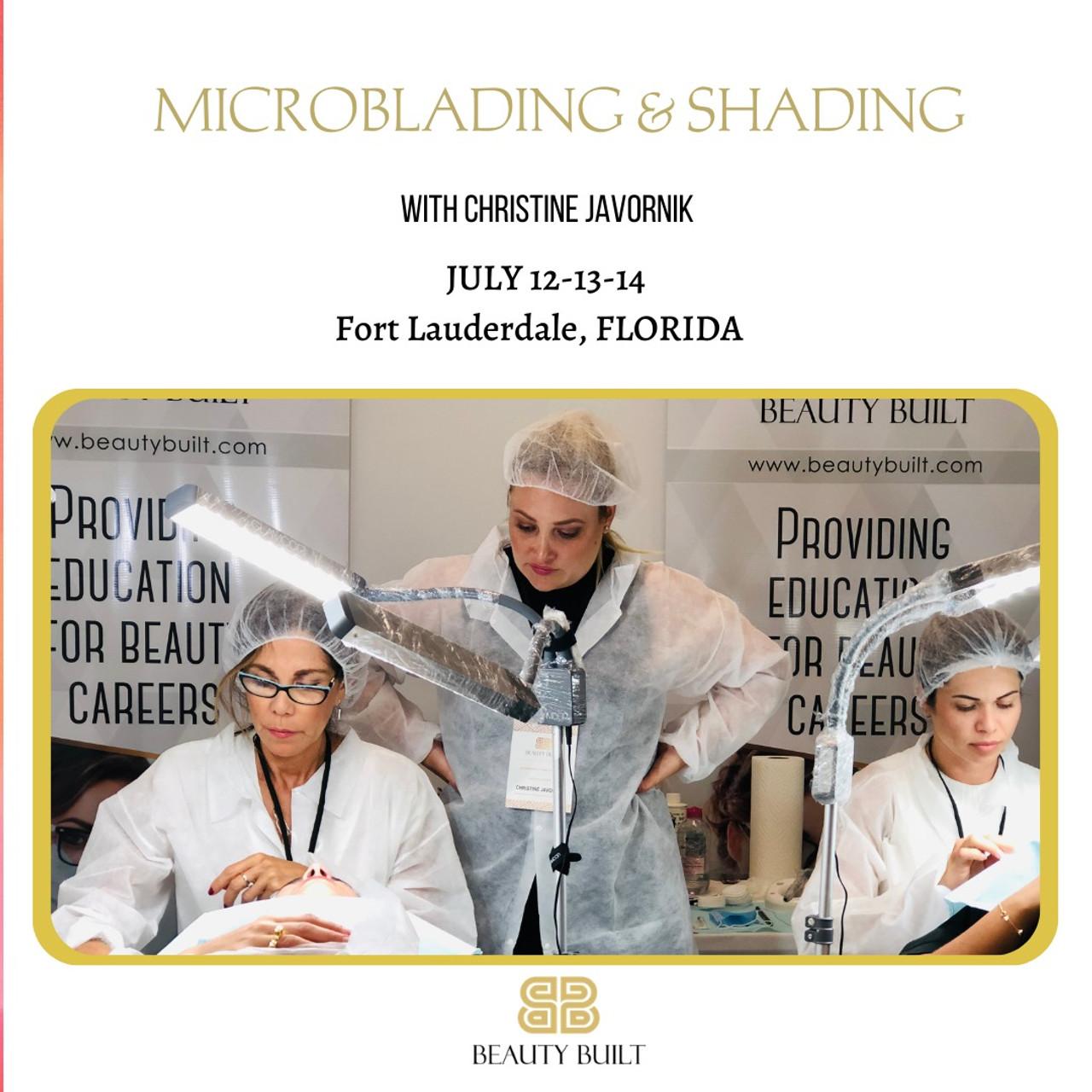 Microblading & Shading - July 12-13-14, 2021 with Christine Javornik