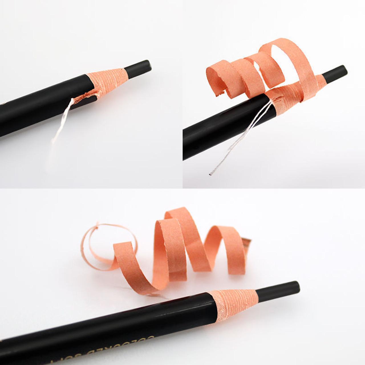 Eyebrow Pencil Colored Soft Cosmetic Art Permanent Makeup Waterproof *1818* BLACK - NO.1 - 1Pc