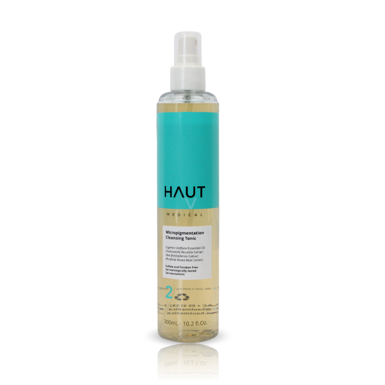 Micropigmentation Cleansing Tonic Step 2 - Permanent Makeup (PMU) and Body Tattooing - 300ml - 10.2 fl.Oz.