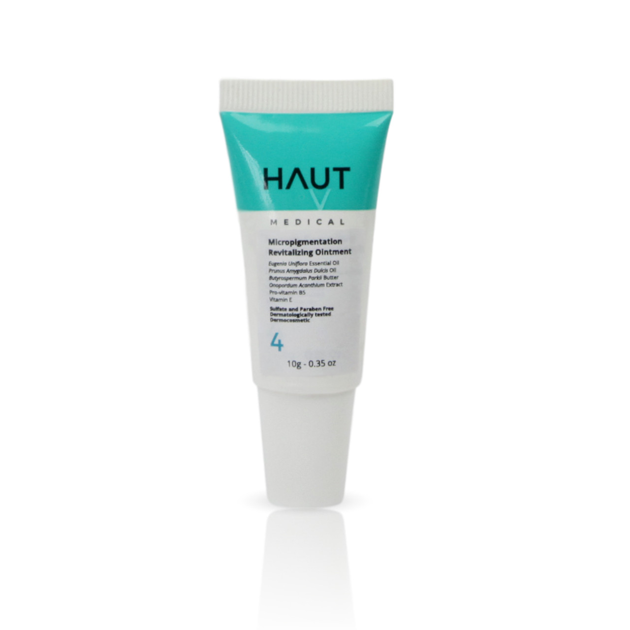 Micropigmentation Revitalizing Ointment Step 4 - Permanent Makeup (PMU) and Body Tattooing - 10g - 0.35 Oz.