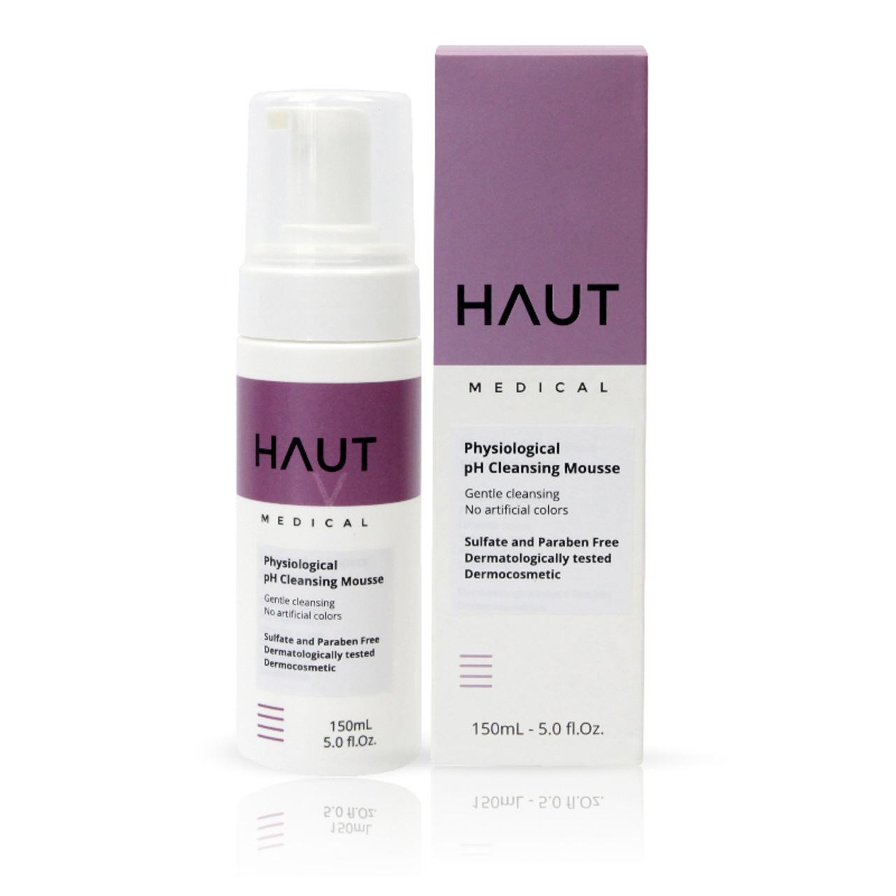 Physiological pH Cleansing Mousse - Permanent Makeup (PMU) and Body Tattooing - 150ml