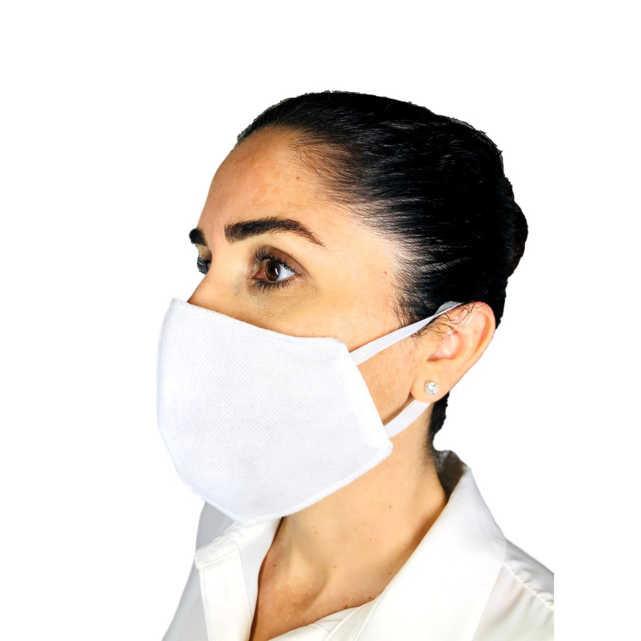 Two-Layer Protection Face Mask Made with 100% Polyurethane