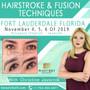 Hairstroke & Fusion Techniques - November 4, 5 & 6, 2019 with Christine Javornik