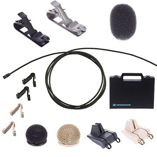 Sennheiser MKE2-P-K Lavalier Condenser Microphone - MKE2-P KIT