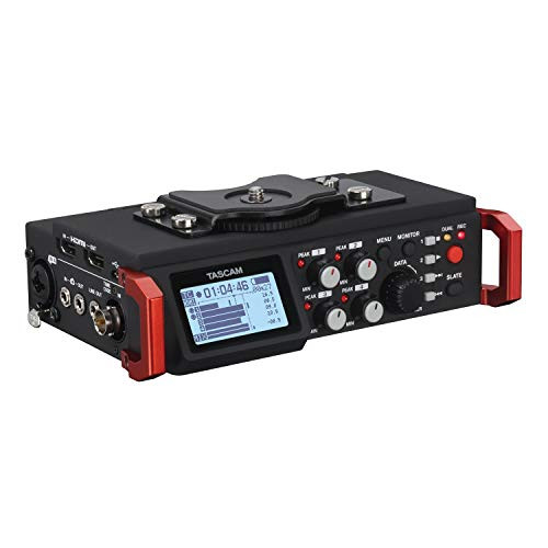 Tascam DR-701D 6-Track Portable Audio Recorder for DSLR