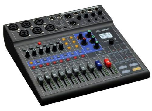 ZOOM LIVETRAK L-8 Digital Mixer Recorder