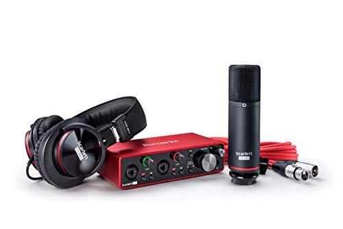 Focusrite Scarlett 2i2 Studio (3rd Gen) USB Audio Interface bundle