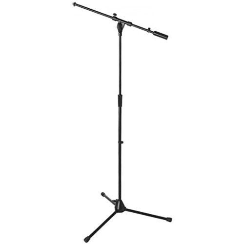 On-Stage MS9701B+ Heavy-Duty Tripod Microphone Boom Stand