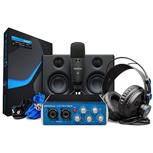 PreSonus AudioBox Studio Ultimate Bundle Recording Kit