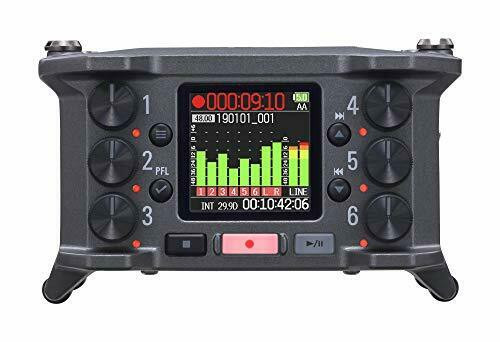 Zoom F6 Field Recorder/Mixer - New!- Free US Ship* - prosounduniverse.