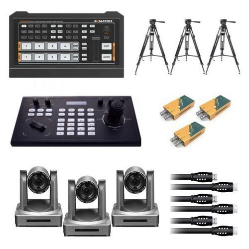 AVMatrix / StreamEye (3) Camera PTZ Control/Record/Streaming System