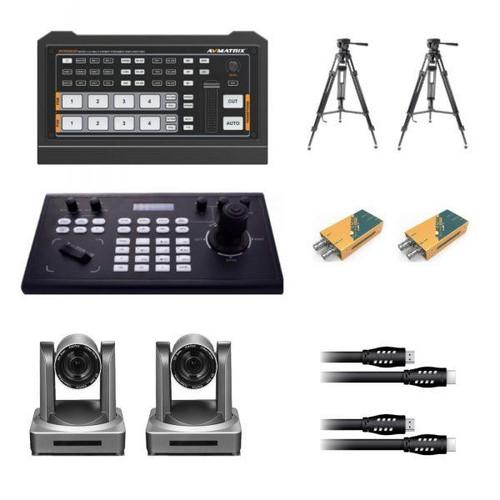 AVMatrix / StreamEye (2) Camera PTZ Control/Record/Streaming System