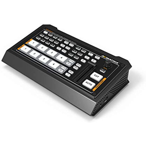 AVMATRIX Micro 4 Channel HDMI Live Streaming Video Switcher HVS0402U HDMI PGM Output HDMI Multiview Out USB Capture Type-C Output