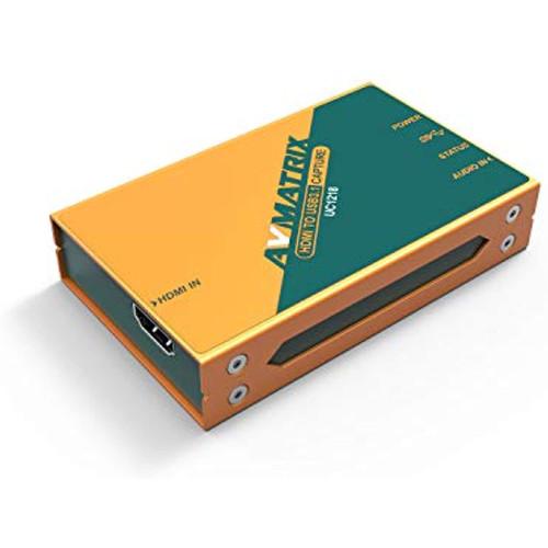 AVMATRIX UC1218 HDMI to USB 3.1 Type-C Uncompressed Video Capture Card