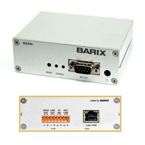 Barix MA400 SIP Opus Codec