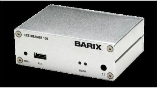 Barix Exstreamer 100 + Instreamer AoIP codec Package