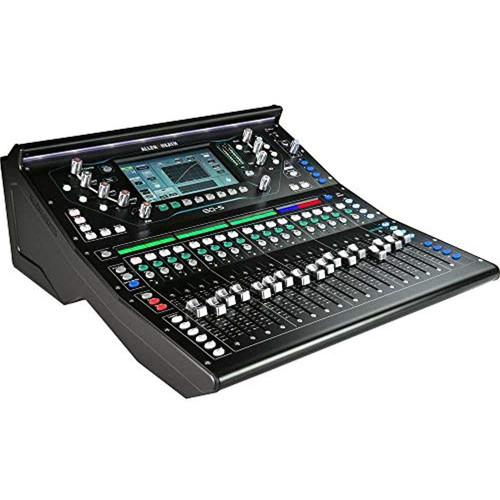 "Allen & Heath SQ-5 Digital Mixer, 48 Input Channels, 7"" Capacitive Touchscreen, Automatic Mic Mixing, 32×32 USB Audio Interface, Black"