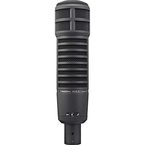 Electro-Voice RE20-BLACK Dynamic Broadcast Microphone- New! -prosounduniverse.