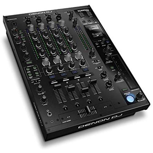 Denon DJ X1850 PRIME – Pro 4 Channel Digital DJ Mixer