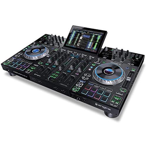 Denon DJ PRIME 4 | 4 Deck Smart DJ Console Serato DJ Controller
