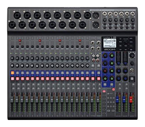 Zoom LiveTrak L-20 Digital Mixer & Multitrack Recorder - New - ProSoundUniverse.