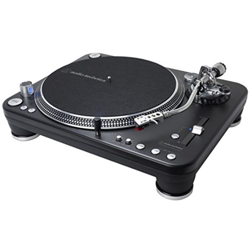 Audio-Technica ATLP1240USBXP Direct-Drive Professional DJ Turntable (USB & Analog), Black, Selectable 33 -1/3, 45, and 78 RPM Speeds