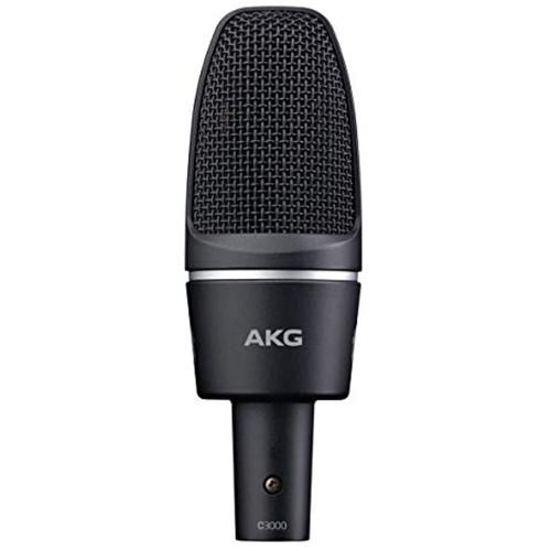 AKG Pro Audio C3000 High-Performance Large-Diaphragm Condenser Microphone