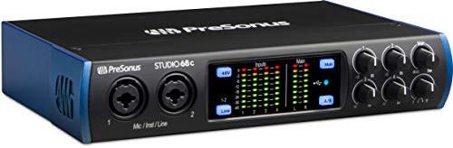PreSonus Studio 68c , USB-C Audio Interface, 4 Mic Pres-New! - prosounduniverse