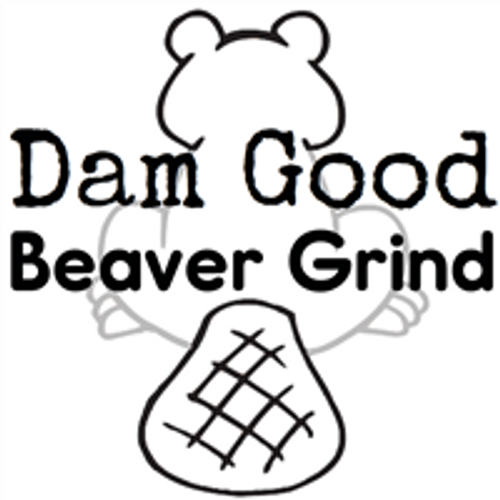 Picture of a Beaver that says Beaver Grind