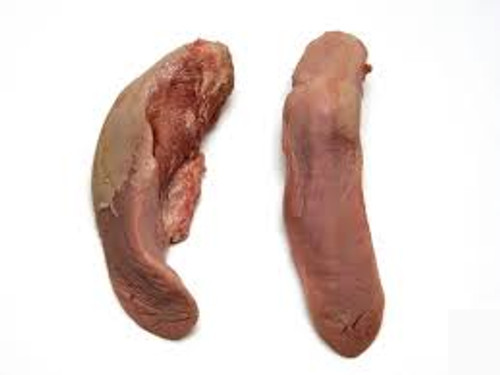 Picture of a pork tongue