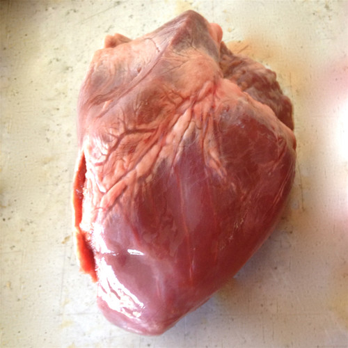 Picture of a pork heart