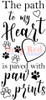 Paw Path Cling Stamp by Deep Red Stamps
