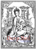Madonna and Child Rubber Cling Stamp by Deep Red Stamps