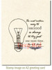 Always Succeed Rubber Cling Stamp by Deep Red Stamps shown on A2 card