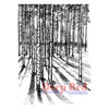 Moonlit Forest Rubber Cling Stamp