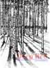 Moonlit Forest Rubber Cling Stamp by Deep Red Stamps