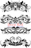 Vector Flourishes Rubber Cling Stamp by Deep Red Stamps