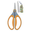 Westcott 6 inch Scissors Yellow/Gray