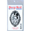 Cobweb Cameo Rubber Cling Stamp by Deep Red Stamps retail package front