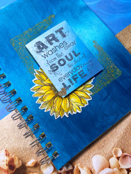 Stamping Journal Cover