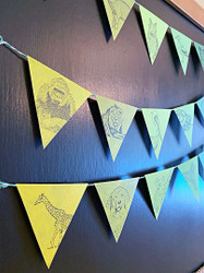 Rubber Stamping Bunting Flags and Bonus Project
