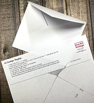 A2 Envelopes & Free Template