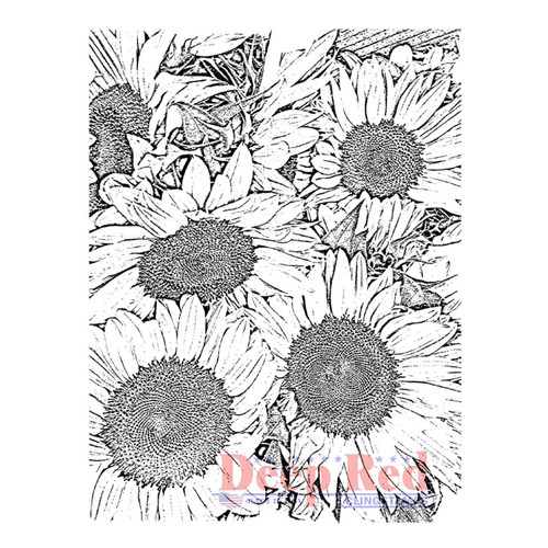 Cling Stamp by Deep Red Stamps